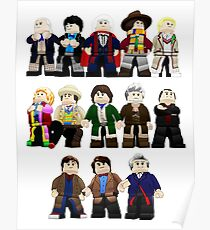 Doctor Who - Toy Doctors Poster