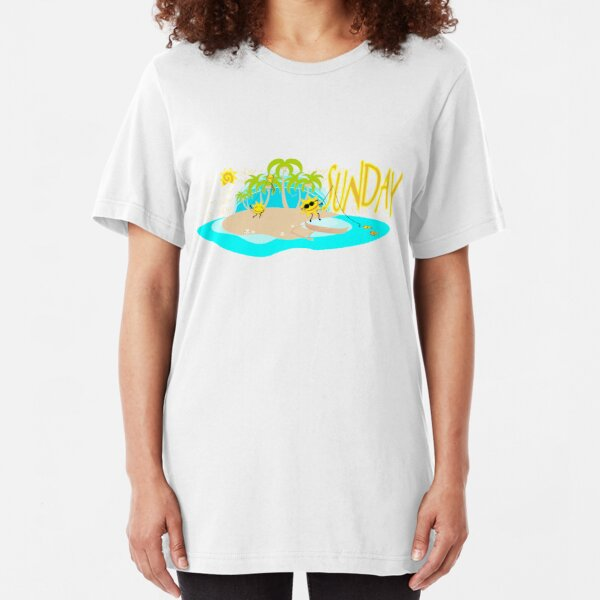 Days of the week - Sunday Slim Fit T-Shirt