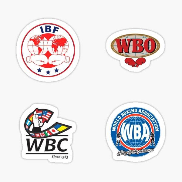 Boxing Organizations Bundle Sticker