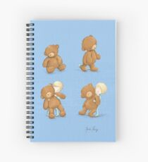 Boy and Ted Spiral Notebook