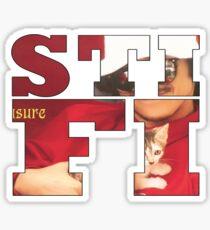 Sticky Fingers Album Sticker