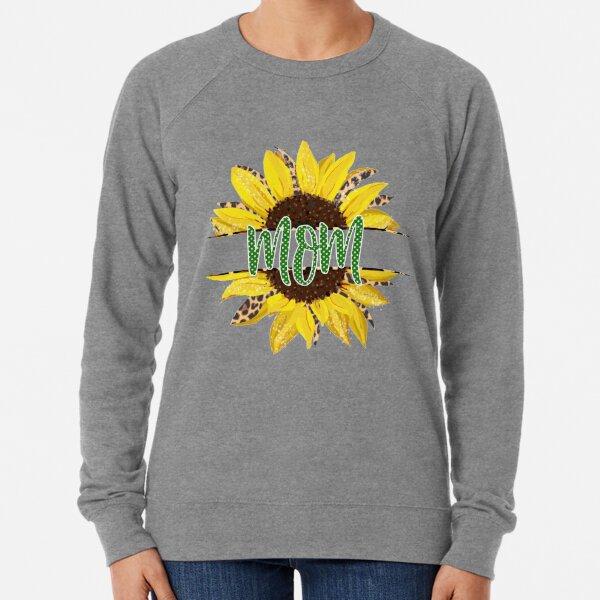 Sunflower sparkle Mom Lightweight Sweatshirt