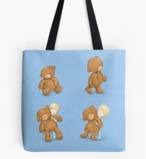 Boy and Ted Tote Bag