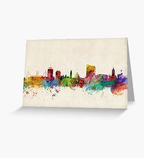 Cardiff Wales Skyline Greeting Card
