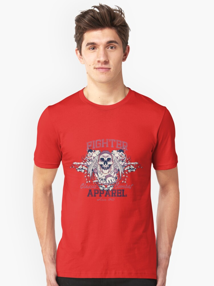 Fighter Unisex T-Shirt Front