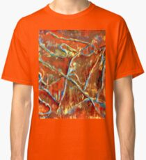 Fire Dancing Abstract Classic T-Shirt