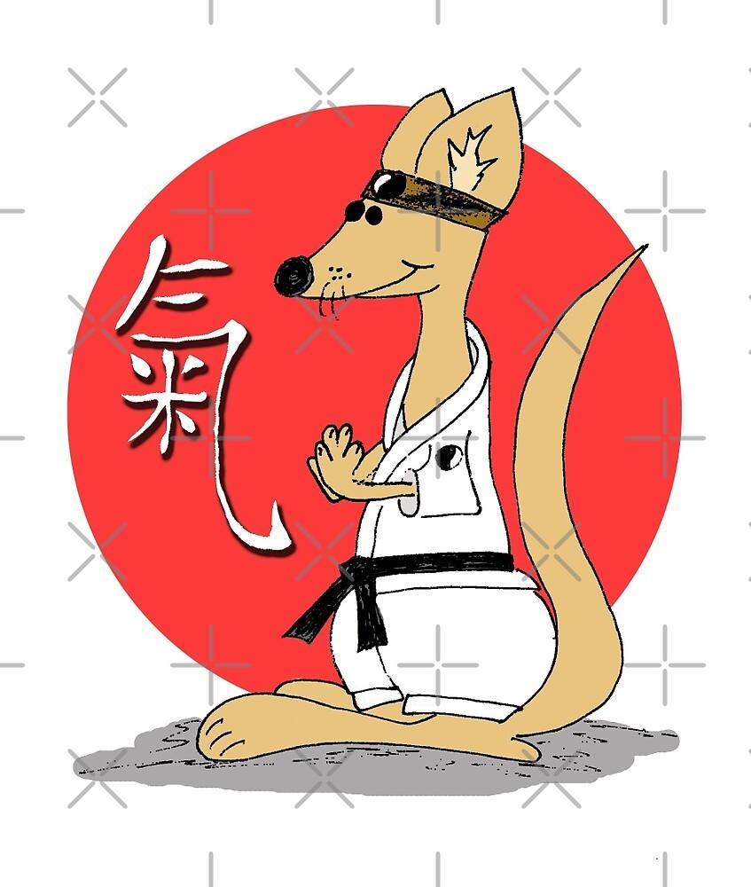 Karate Kämpfer Chi by freaks13