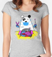 Panda MD Women's Fitted Scoop T-Shirt