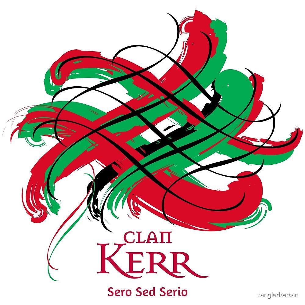 Clan Kerr  by tangledtartan