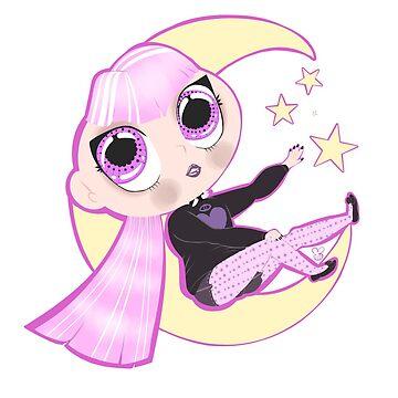 Cute Pastel Goth Girl by TheKillerOpekui