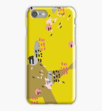 Crazy Yellow Pop iPhone Case/Skin