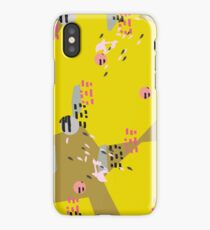 Crazy Yellow Pop // Abstract Scribble Pattern iPhone Case/Skin