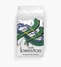 Clan Johnston  Duvet Cover