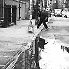 NYC - La flaque by Jean-Luc Rollier