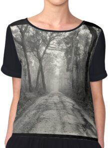 ~ a foggy beginning ~ Women's Chiffon Top