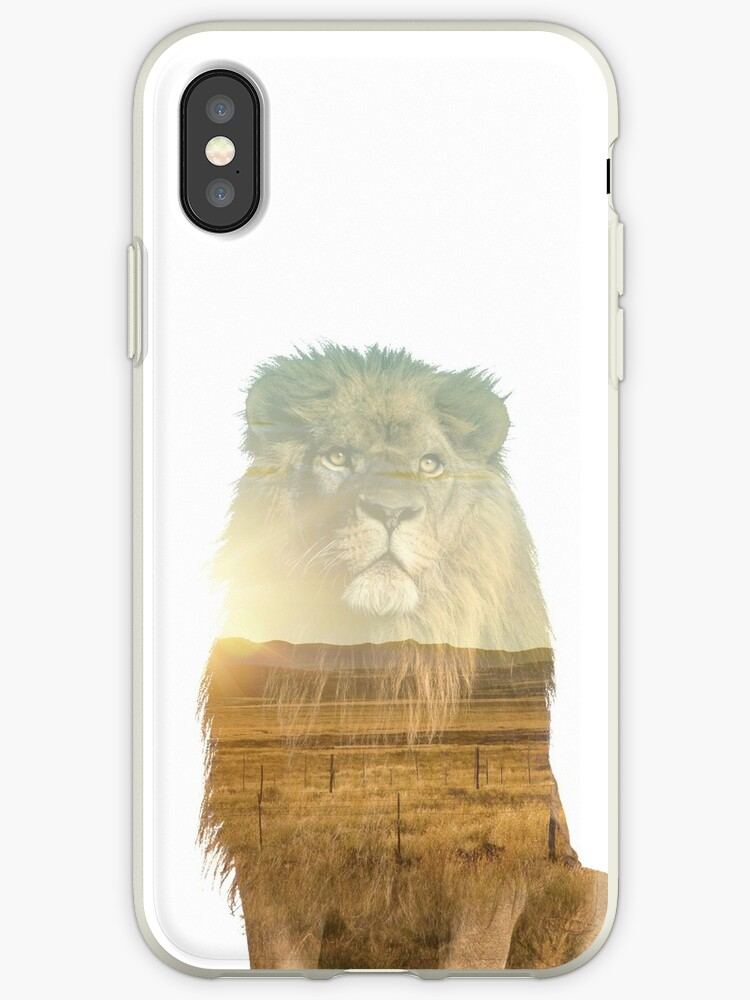 Double Exposure Lion by Ross Kincaid