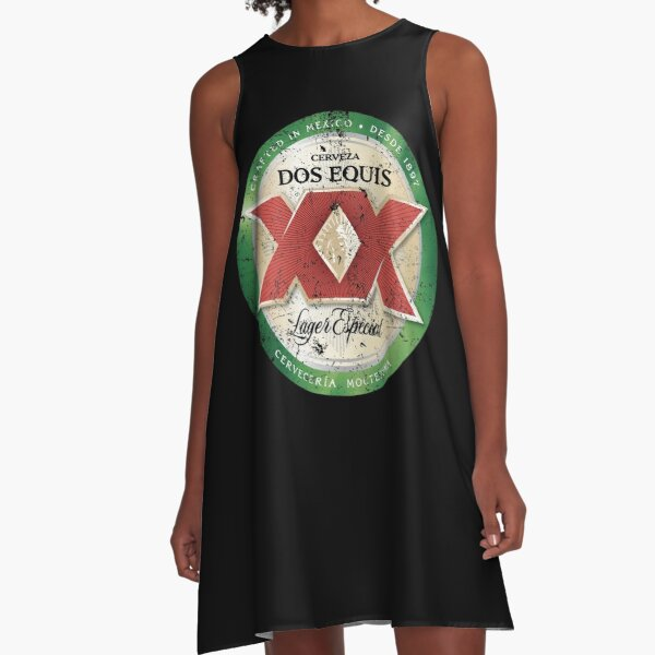 Dos Equis Lager  A-Line Dress