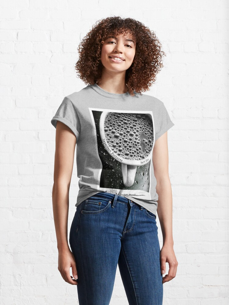 Alternate view of Imperfect Pictures Cover By Jeska Wood Classic T-Shirt
