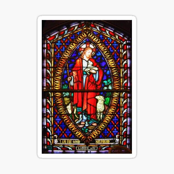 Stained Glass Window Sticker
