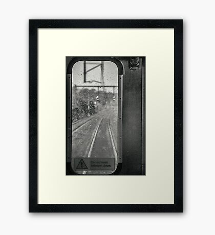Good Advice - Sydney Silver Bullet Framed Print