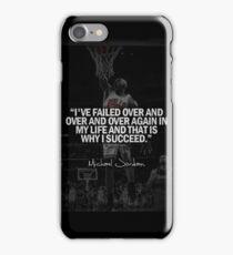 Michael Jordan Quote iPhone Case/Skin