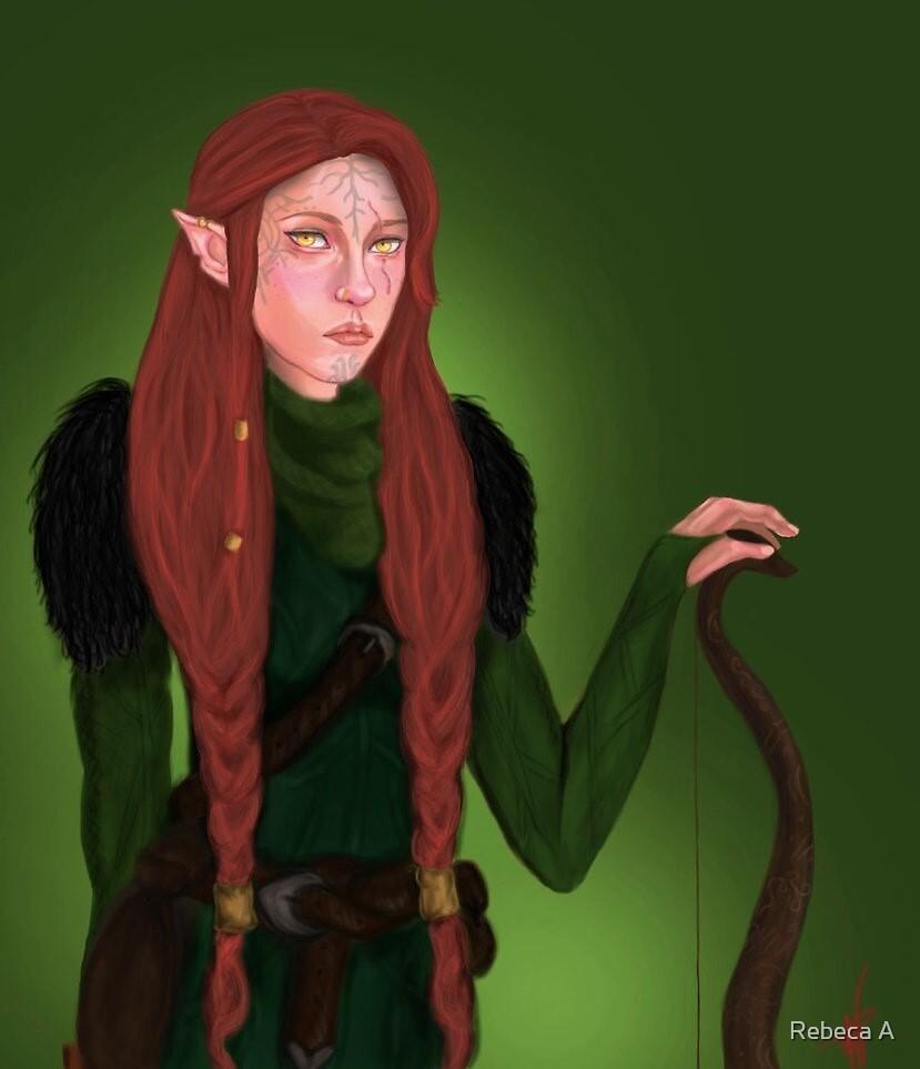 Fionna Lavellan by Rebeca A