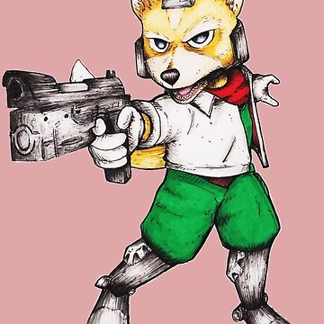 Fox McCloud  by RoseMitch