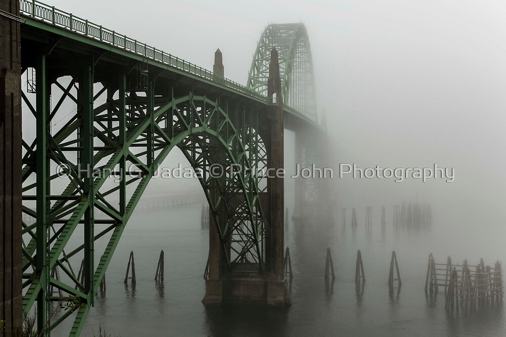 The Bridges Of Oregon's Coast - Yaquina Bay Bridge - 1 © by © Hany G. Jadaa © Prince John Photography