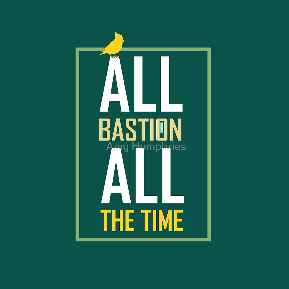 All Bastion All The Time by SpriteIdeas