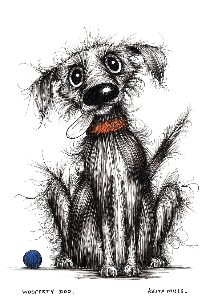 Wooferty dog by Keith Mills