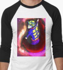 bellydancer queen turchese Men's Baseball ¾ T-Shirt