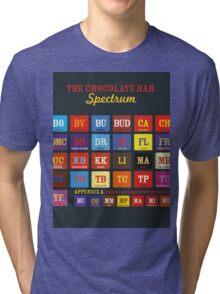 Chocolate Bar Table Tri-blend T-Shirt