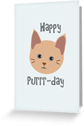 Happy Purrr-day by Boscy