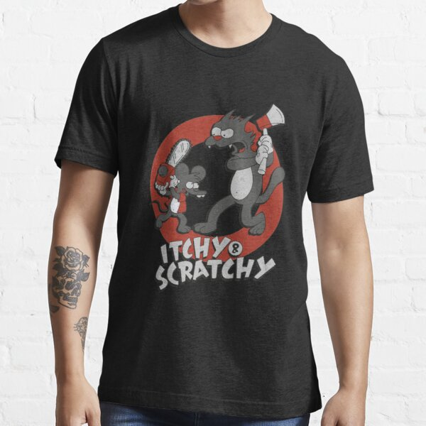 Itchy and Scratchy Essential T-Shirt
