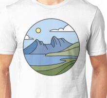 Round Tasmania: Mountain Unisex T-Shirt