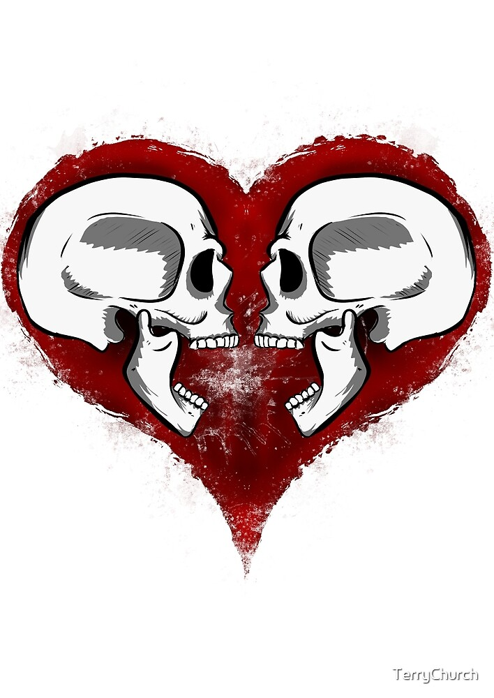 Skulls And Hearts by TerryChurch