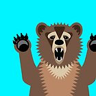 Bear Says Boo by AntiqueImages