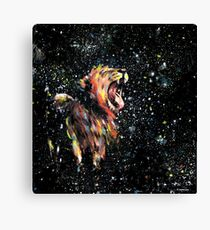 the lion sleeps no more Canvas Print