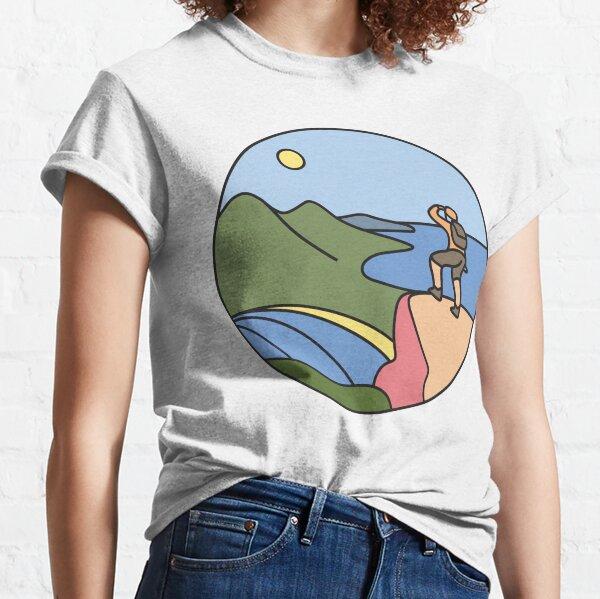 Round Tasmania: Wineglass Bay Classic T-Shirt