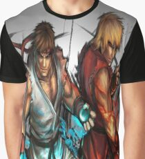 Street Fighter | Ryu x Ken Graphic T-Shirt