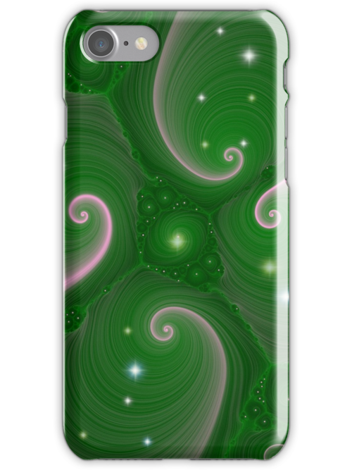 Starry Green by aprilann