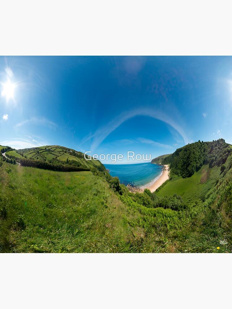 Kinnagoe Bay Panorama by VeryIreland