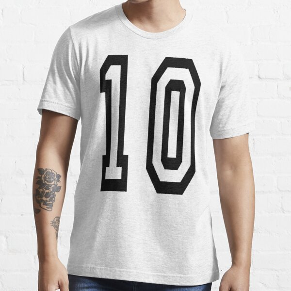 NUMBER 10. TEAM. SPORTS. 10th. TENTH. Competition. Essential T-Shirt