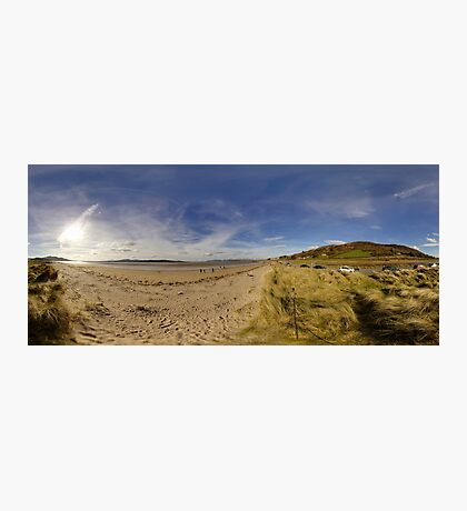 Lisfannon Beach, Fahan, County Donegal, Equirectangular  Photographic Print
