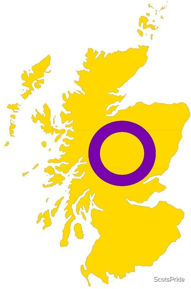 Intersex Pride Map of Scotland by ScotsPride