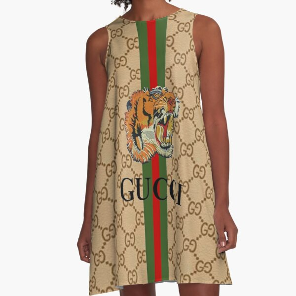 Tiger Guci - Best Selling A-Line Dress