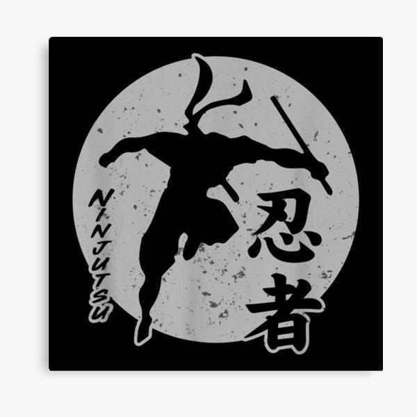 Ninjutsu Sun Master Ninja Martial Art Fighting  T- Canvas Print