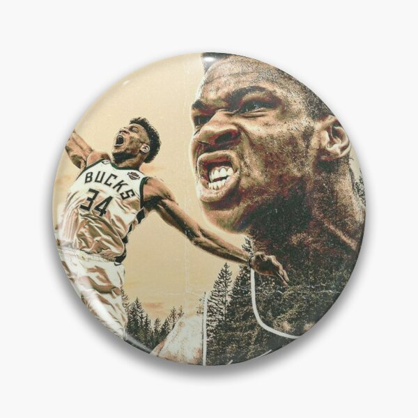 Giannis Antetokounmpo Pins And Buttons Redbubble