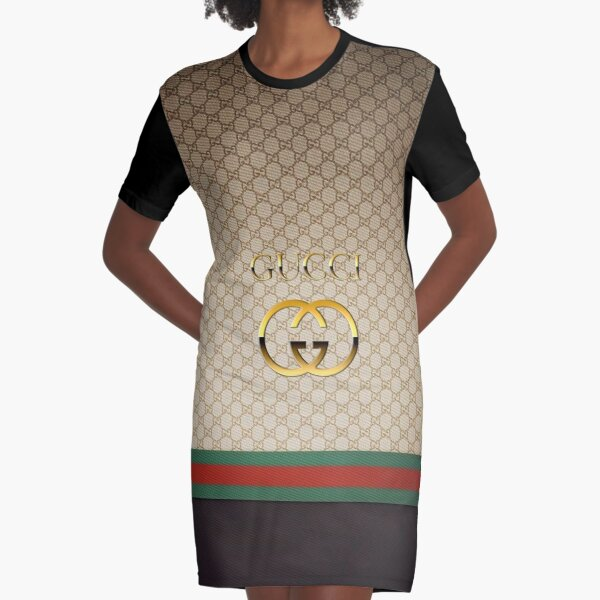 Three Strips - Best Selling Graphic T-Shirt Dress