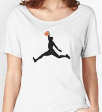 Basketball Player Women's Relaxed Fit T-Shirt